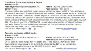 Screenshot of reviews on virtual call center software cost