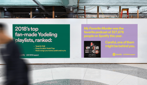 Image showing Spotify's OOH campaign
