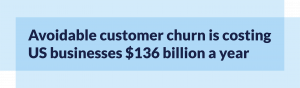 Stat on customer churn
