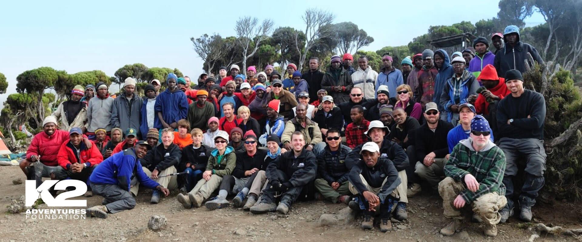 Mt. Kilimanjaro summit with K2 Adventures