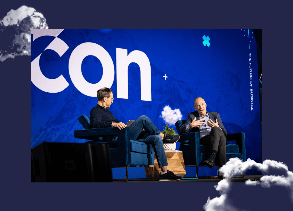 Marc Randolph and Tomas Gorny at NextCon 2019