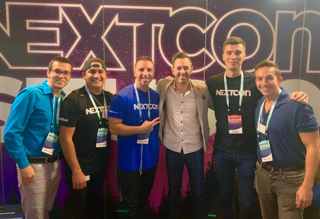 Rand Fishkin hanging out with #TeamNextiva
