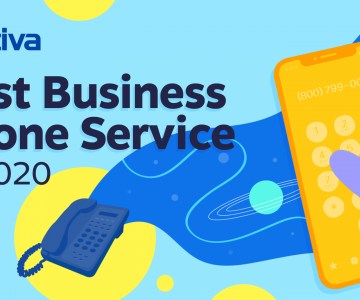 Nextiva Named Best Business Phone Service of 2020