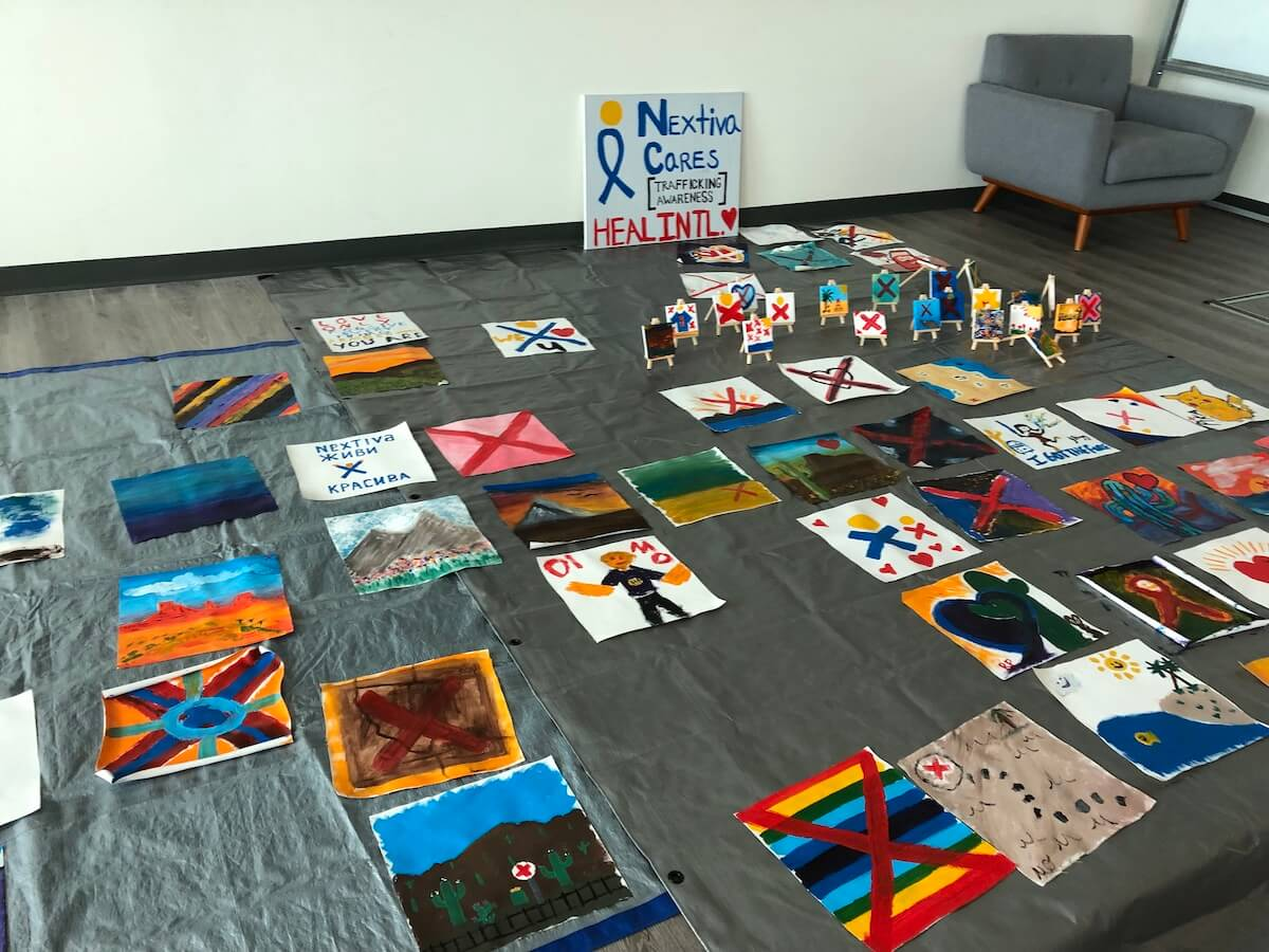 Completed canvasses from Nextiva for HEAL International