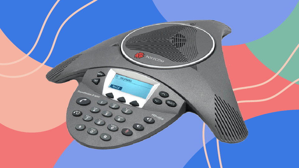 Poly SoundStation IP 6000 Conference Phone