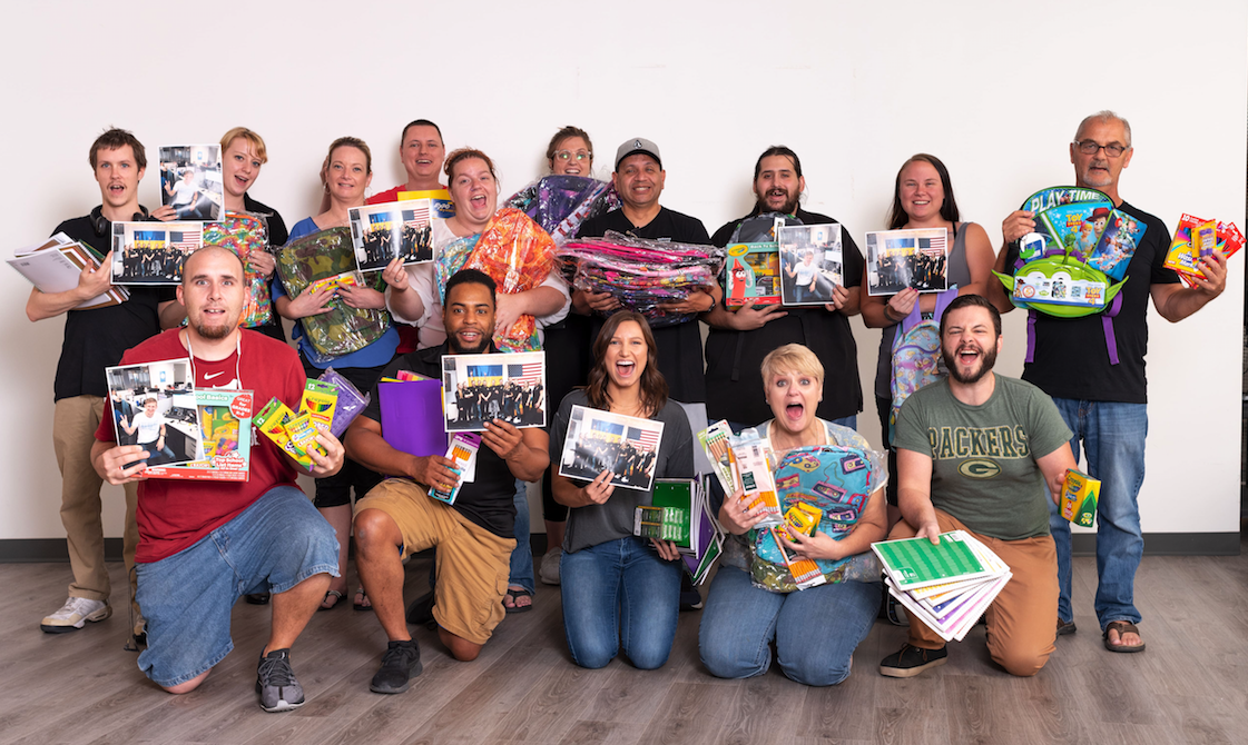 Nextiva Donated More Than 1,500 School Supplies