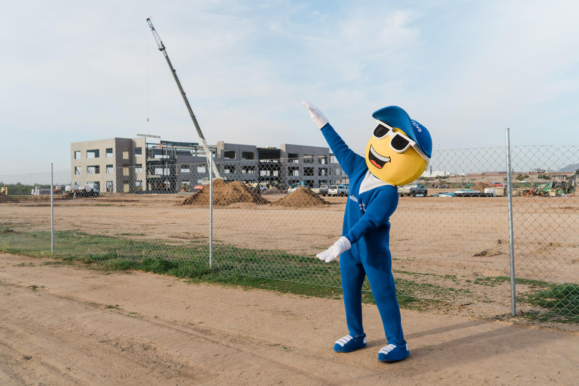 Nextiva's XBert Shows Off New Office Building Under Construction