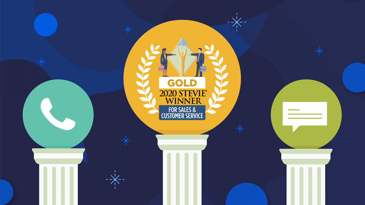 Nextiva Wins Multiple Stevie Awards - Customer Service, Innovation, and Technology (2020)