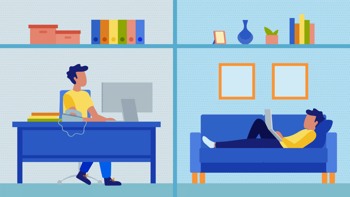 Working from Home vs. Working from the Office - Comparison