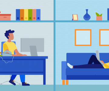 Working From Home vs. Working in an Office: Pros & Cons