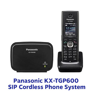 Image of Panasonic KX TGP600 SIP Cordless Phone System