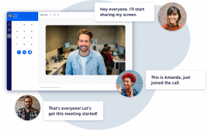 Image showing Nextiva's video conferencing