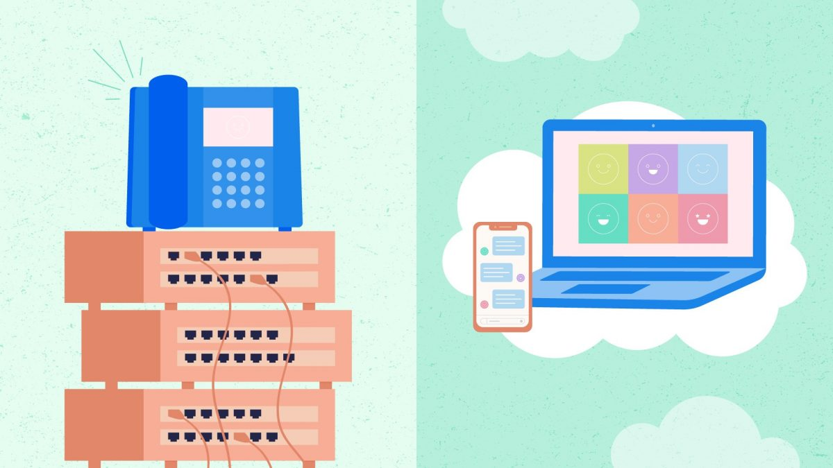 On-premise vs Hosted PBX phone systems