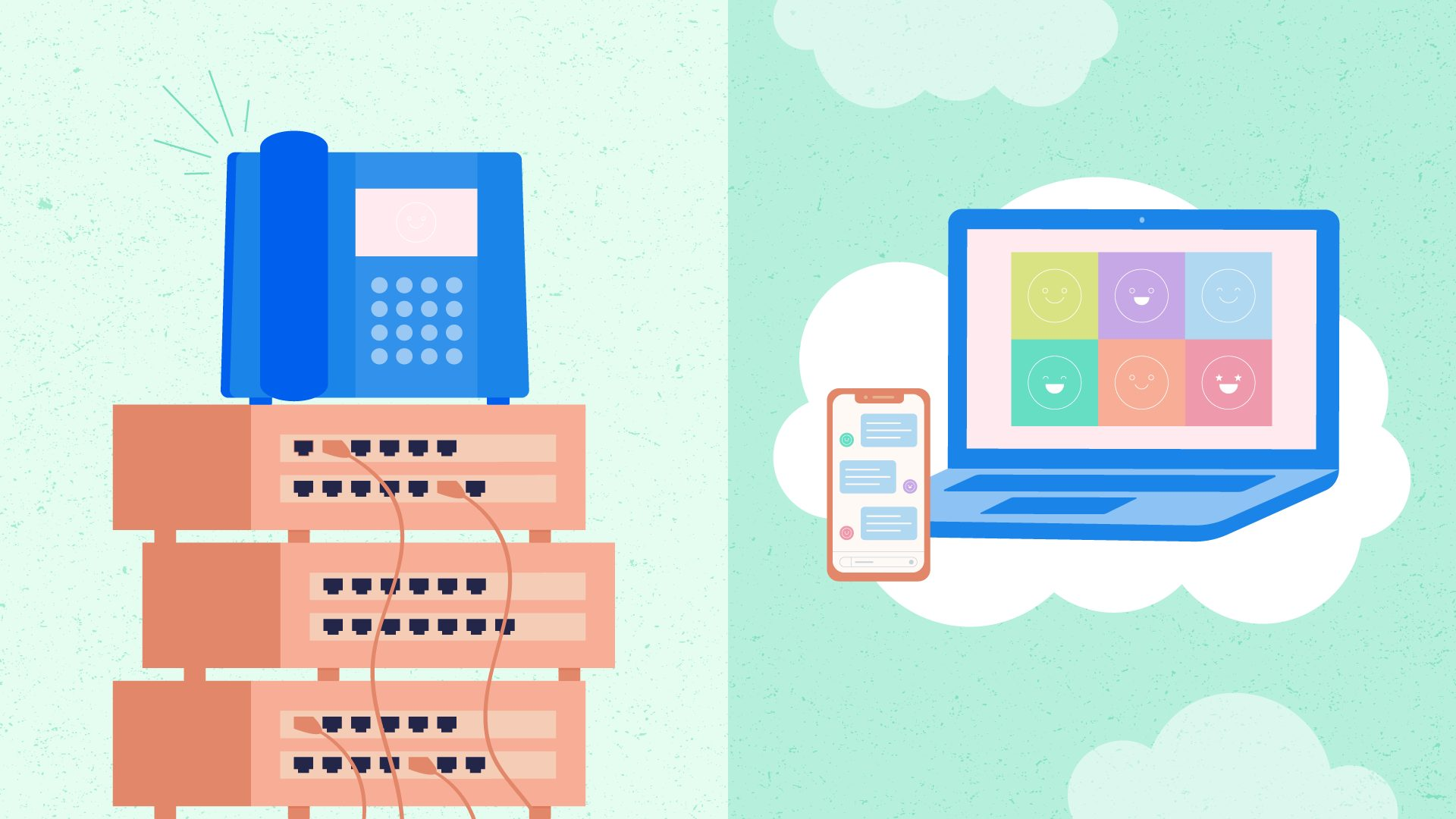 Growth in the UCaaS Market from On-Premises Phone Systems