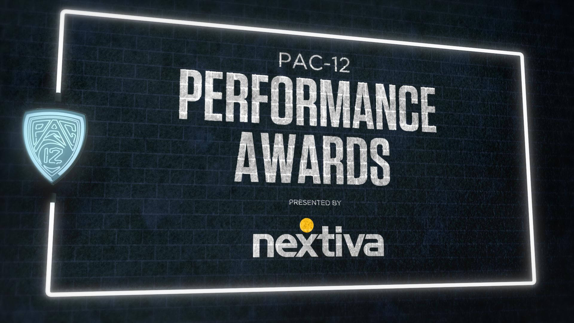 Pac-12 Performance Awards - Presented by Nextiva