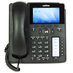 Photo of a new Nextiva X-885 Multiline VoIP Phone (12-Line)
