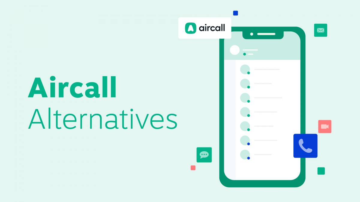 Aircall alternatives and competitors