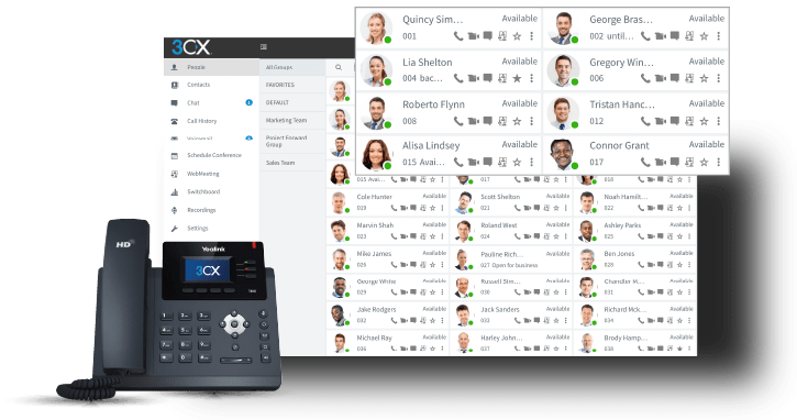 3CX business phone system