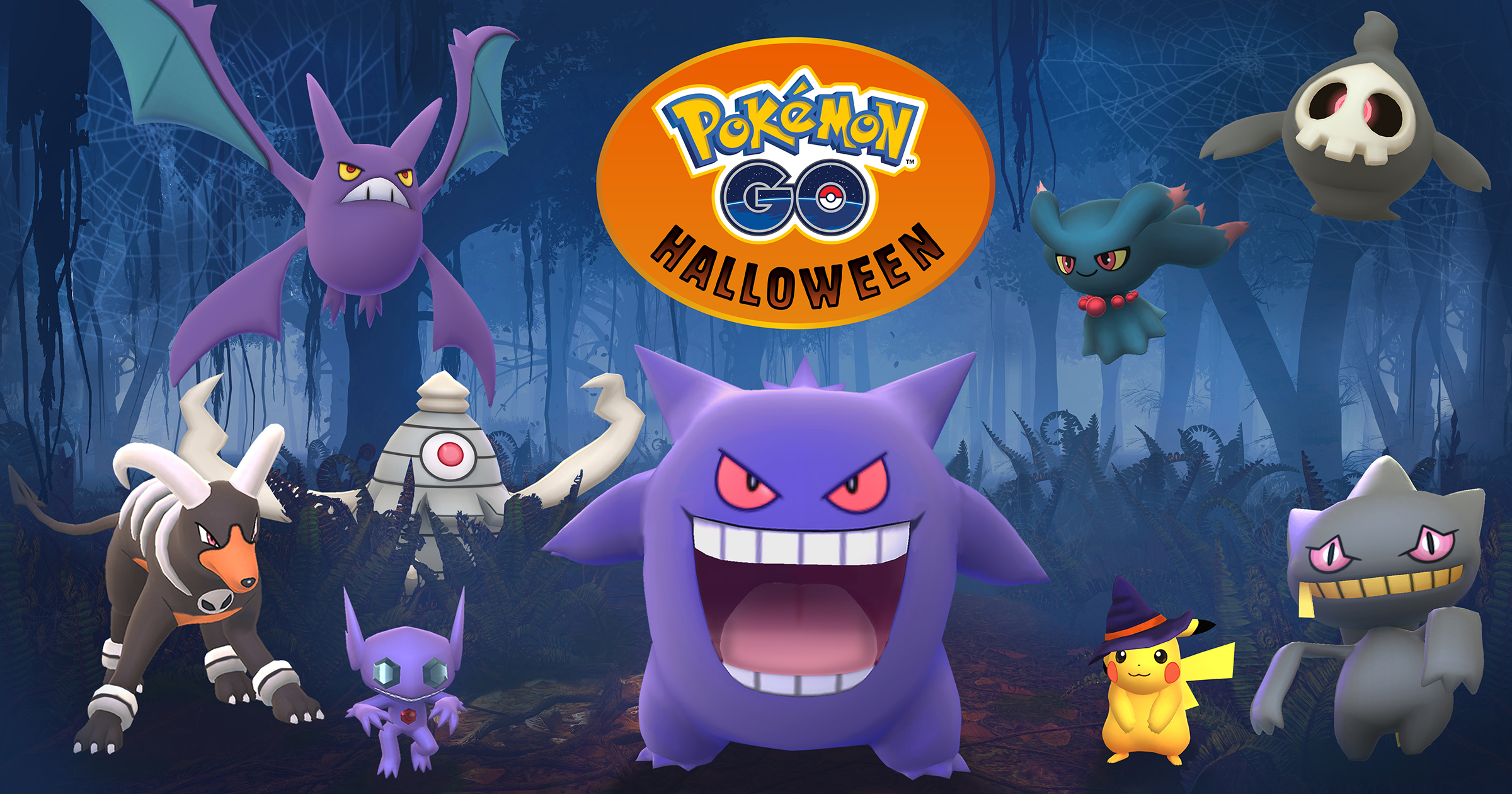 pokémon go』ゲーム内におけるハロウィンイベントを実施 - niantic