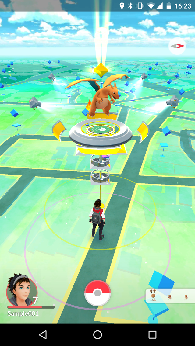 Pokémon GO Map Screenshot