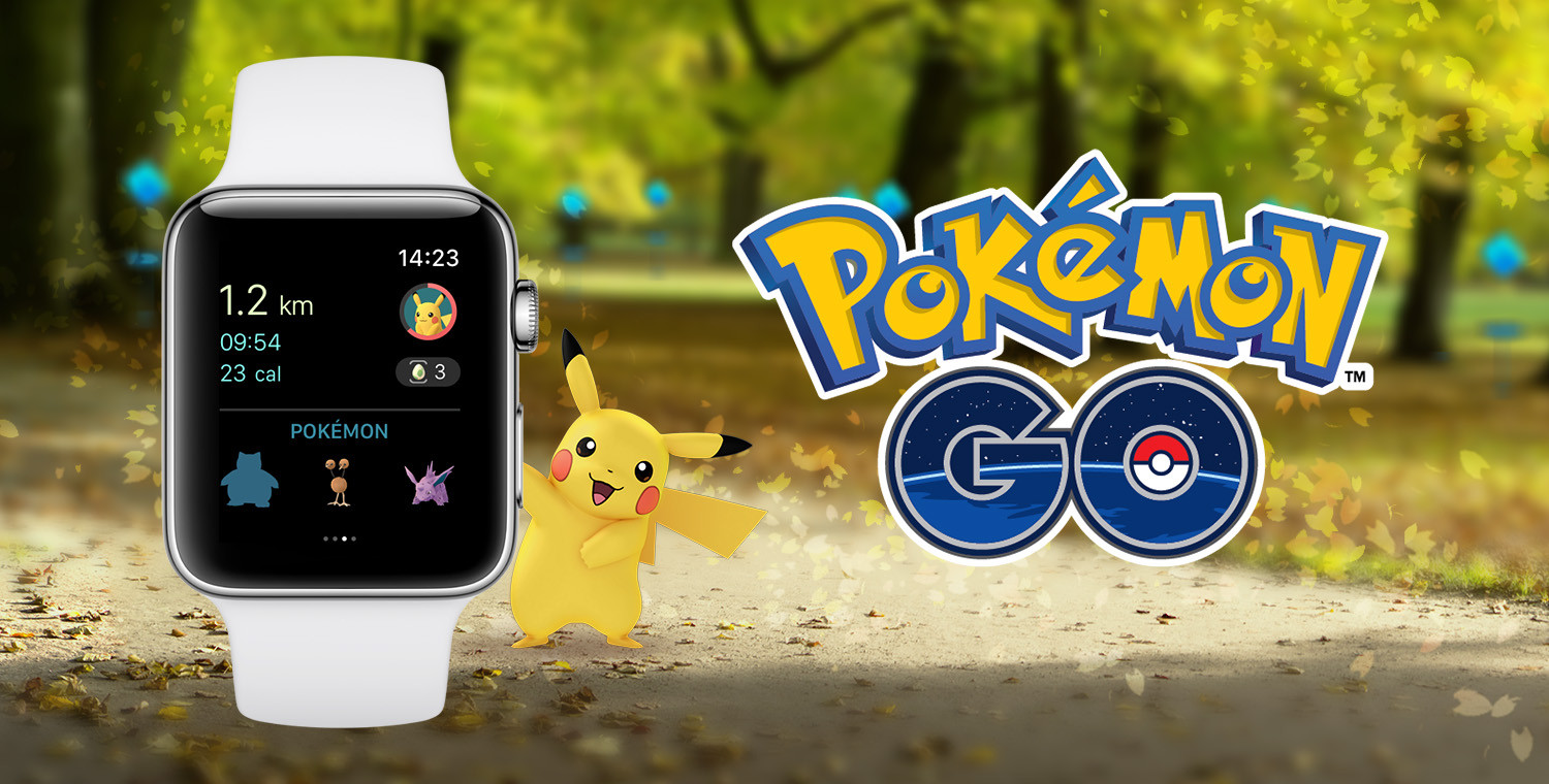 Pokémon GO is now on the Apple Watch, just in time for the Holidays
