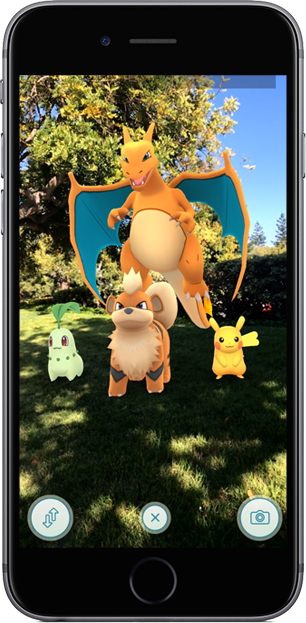 Pokémon GO AR Playground Screenshot