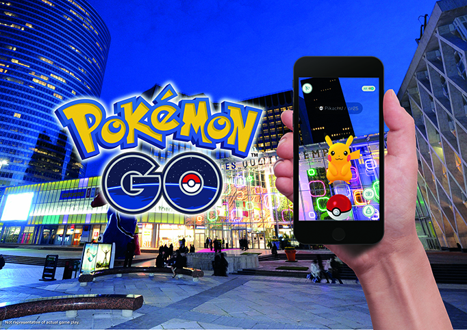 Stay Warm While Playing Pokémon GO This Winter at Unibail-Rodamco Shopping Centers in Europe