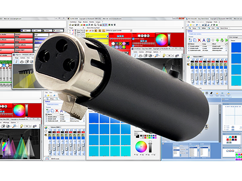 DmxSoft SUSHI, the world's most attractive DMX controller