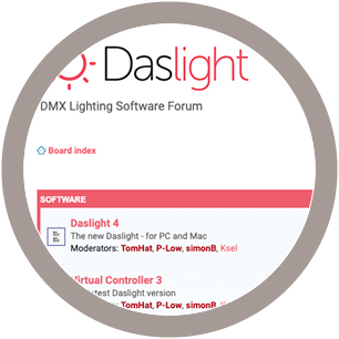 Daslight Forum Update
