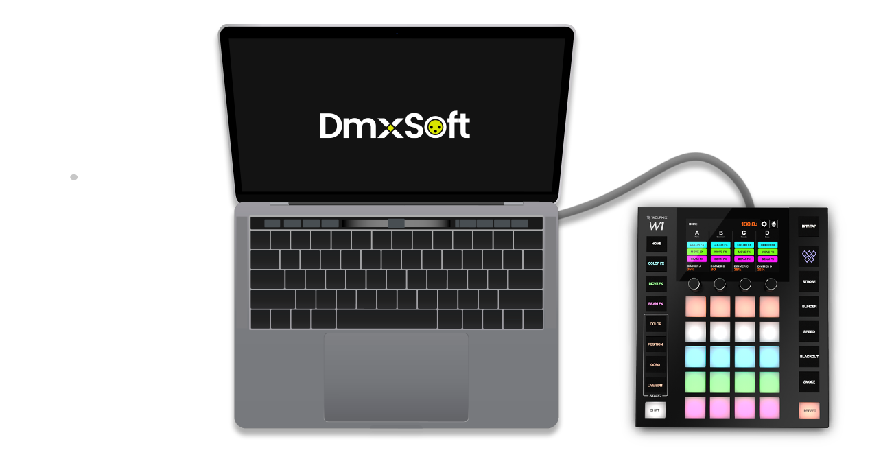 Use with other DMX software