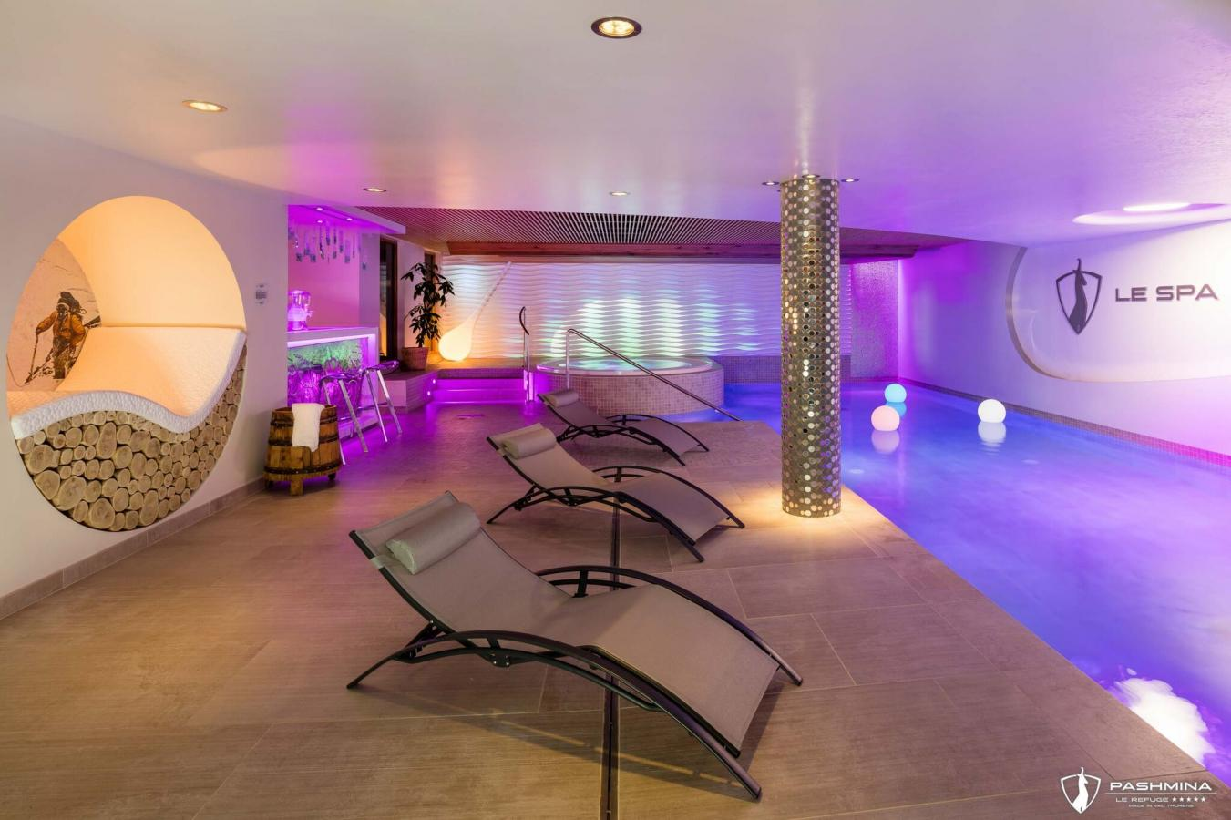 Spa of Pashmina Hotel - Val Thorens, France