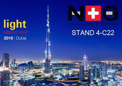 Nicolaudie at Light Middle East 2016