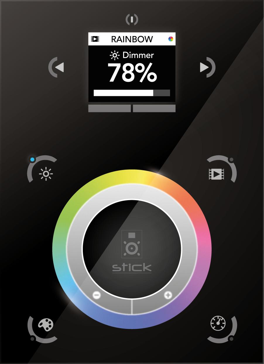 STICK-DE3 - Powerful DMX controller for RGB LED lighting