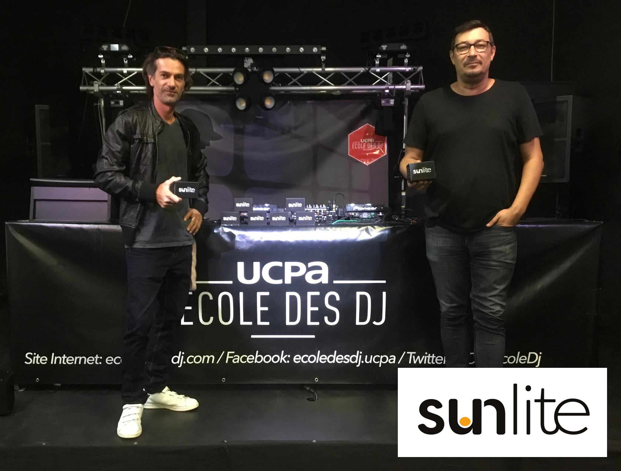 Sunlite software at UCPA DJ school
