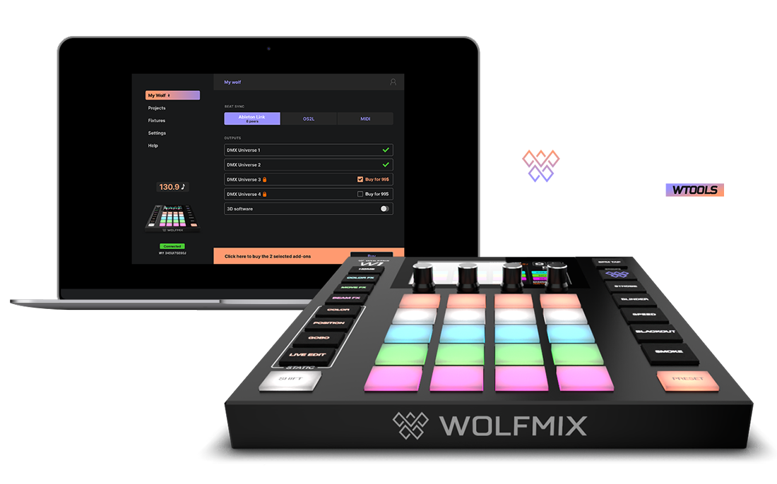 The Wolfmix toolbox
