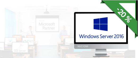 20740: WINDOWS SERVER 2016 – nasazení a správa