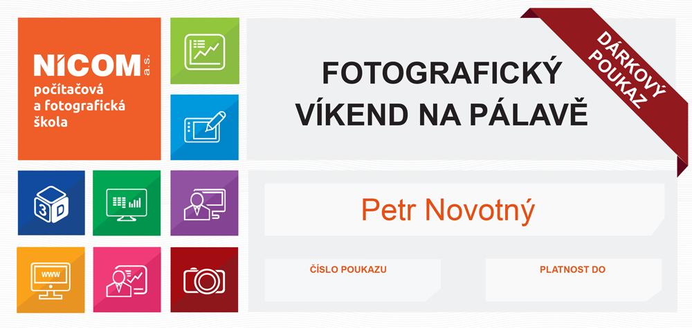 DÁRKOVÝ POUKAZ NA FOTOGRAFICKÝ VÍKEND NA PÁLAVĚ
