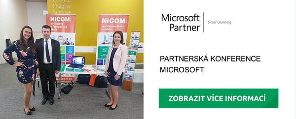 Máme hlavu plnou novinek – Partnerská konference Microsoft
