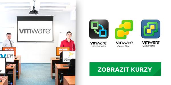 Nové kurzy VMware