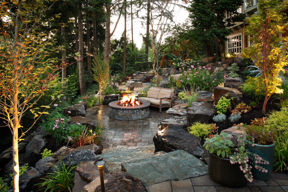 Hillside Backyard Renovation