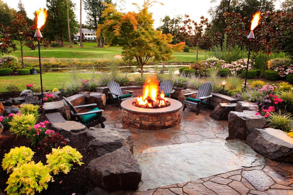 Relaxed Backyard Living