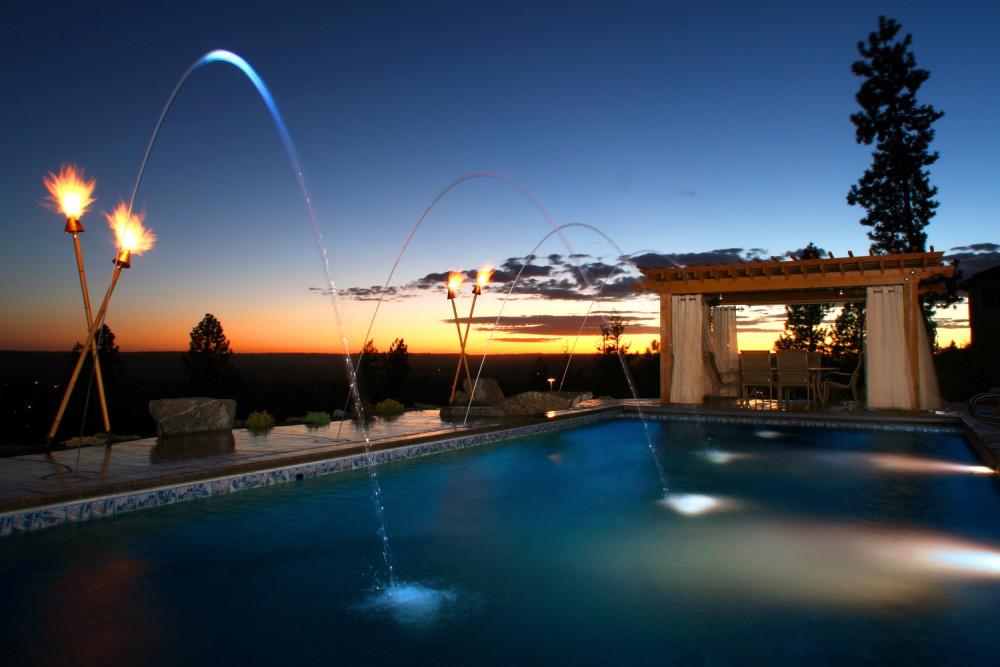 Hillside Pool Escape