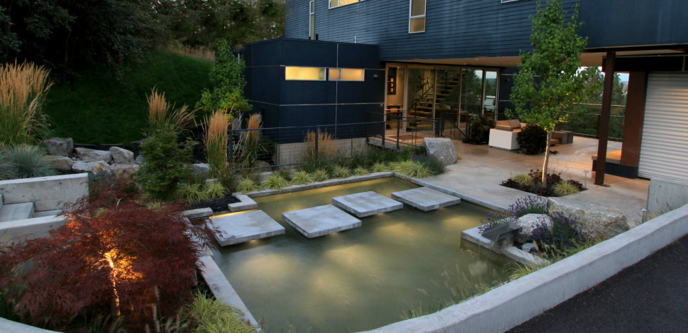 Floating Concrete House