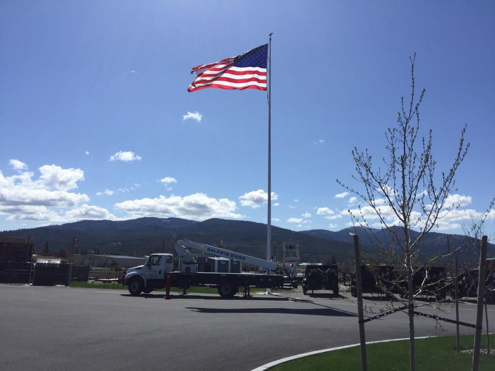 Fox Trailers 75' Flag Pole