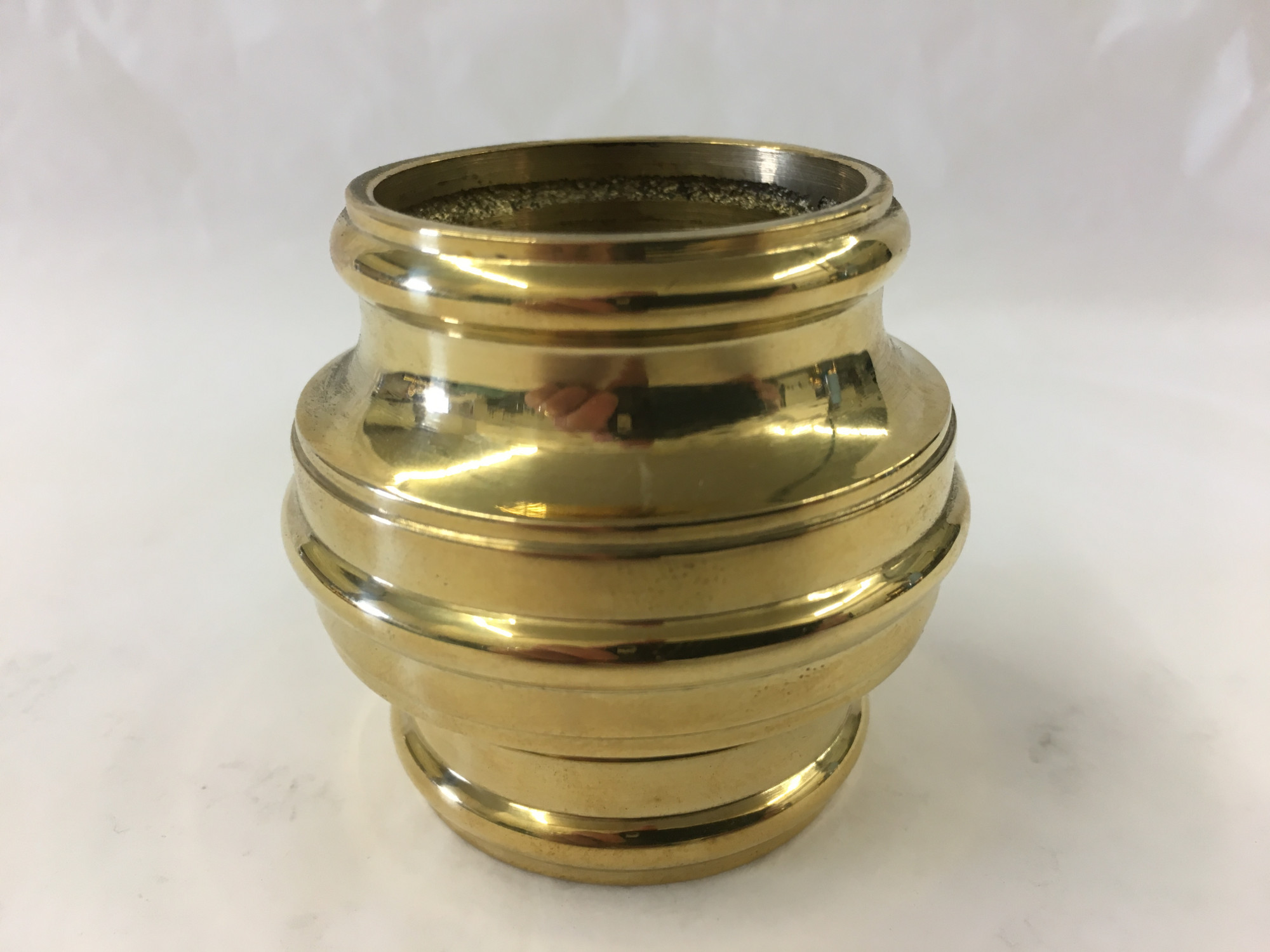 Polished Brass Short Joint Slider (2in)