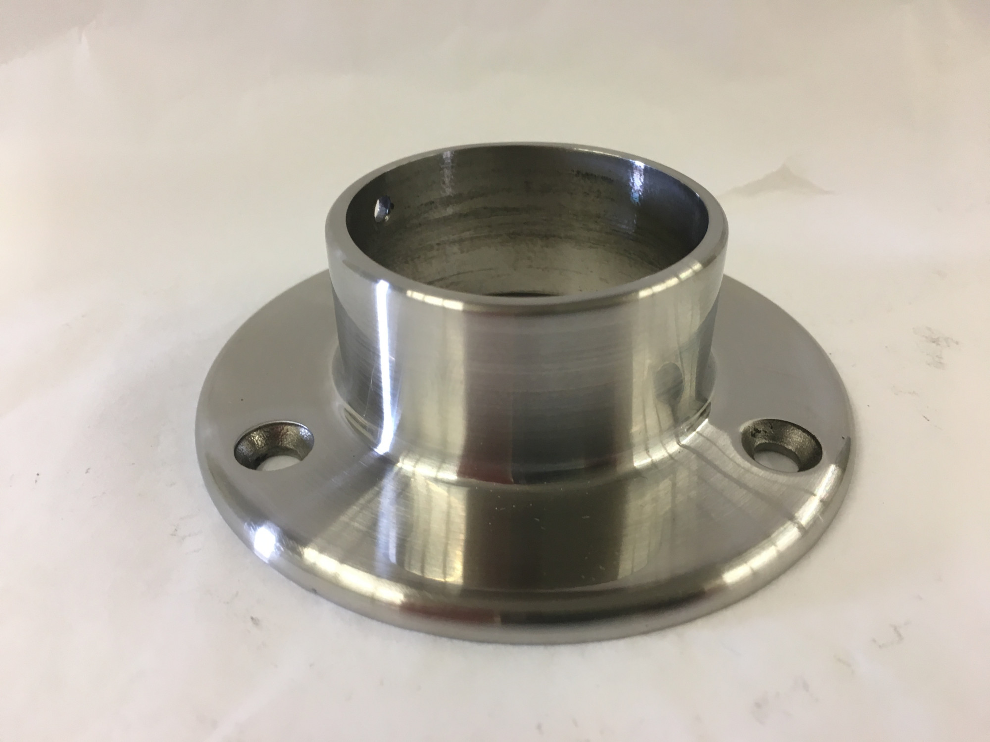 Satin Stainless Wall Flange (1-1/2in)
