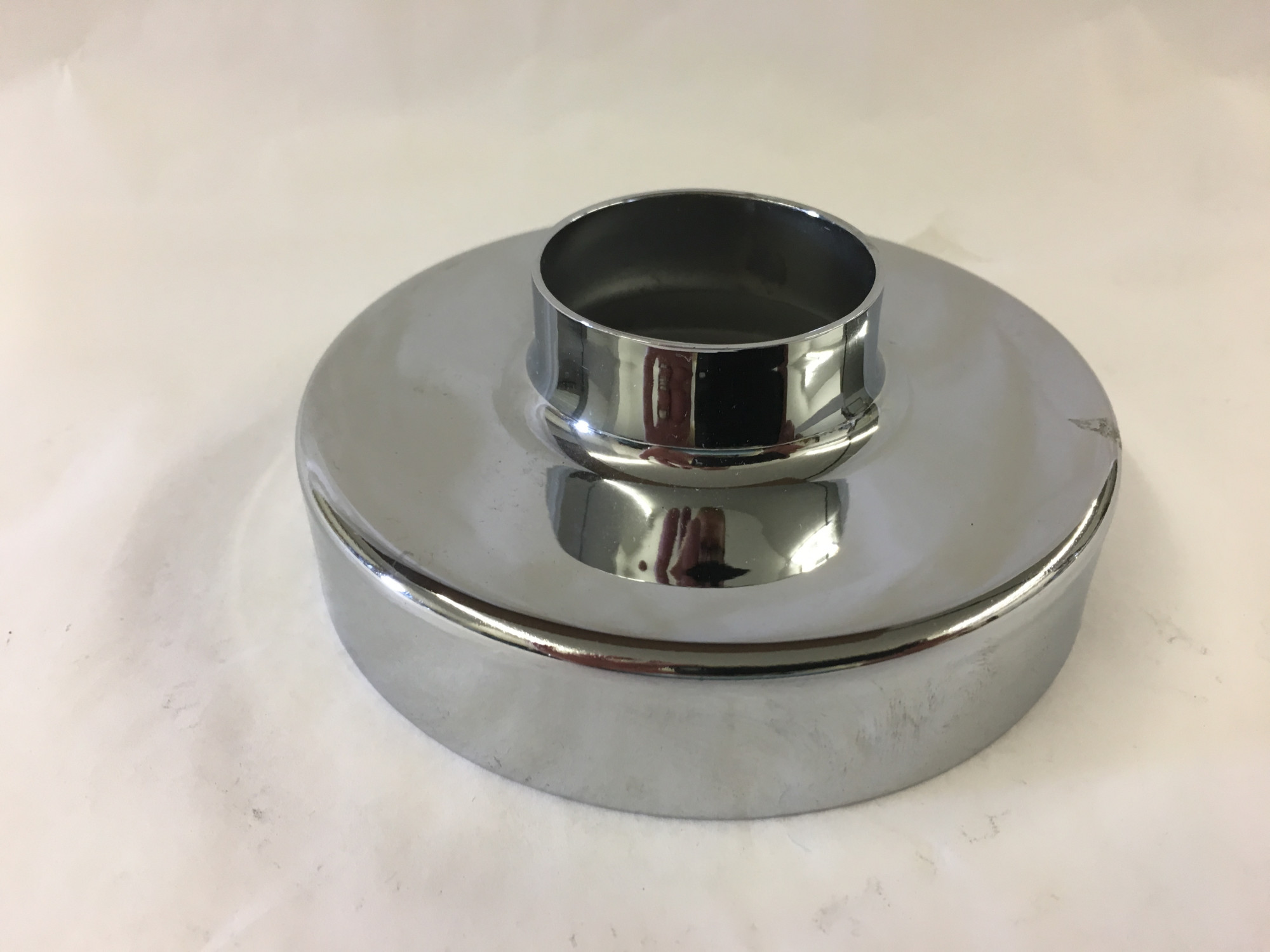 Polished Stainless Flange Canopy (1.5 inch)
