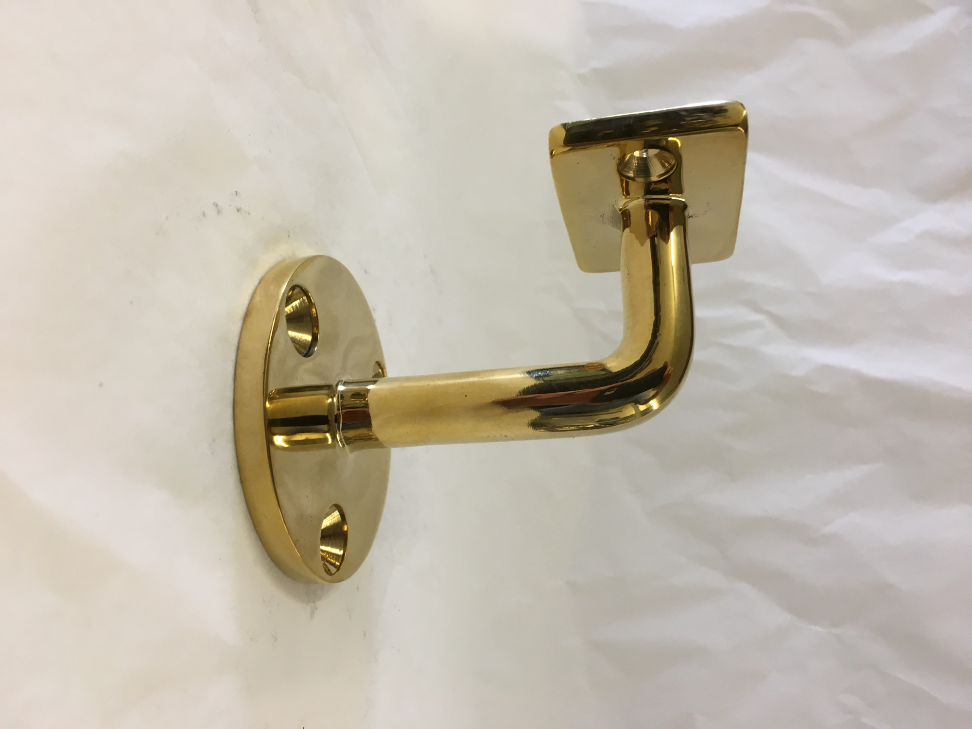 Solid Brass Flat Wall Bracket (Any)