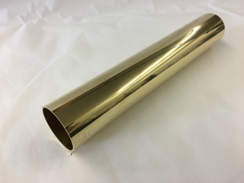 Polished Brass Round Tubing (1-1/2 Inches)