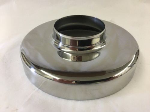 Polished Stainless Flange Canopy (2in)